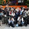 Japan, Kyoto: paparazzi fotografen in actie