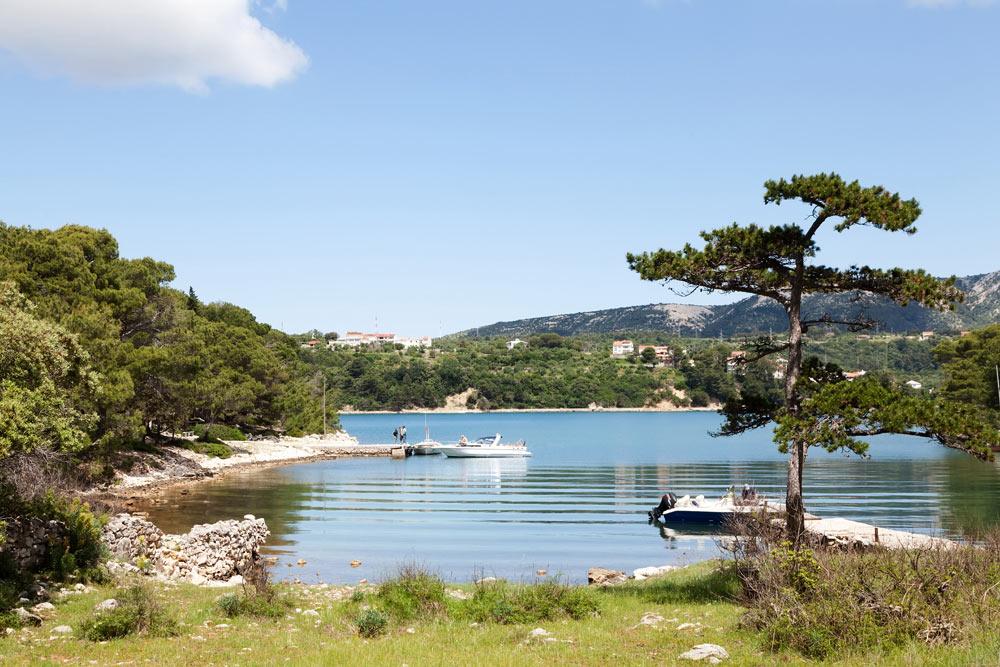 Rab Kroatie Natuurgebied Kalifront op Rab