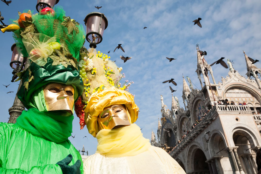 Frivolous Venice – back in time during the carnival