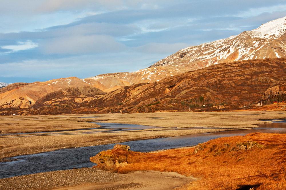 Rondreis IJsland: Stafafellsfjoll in herfstkleuren