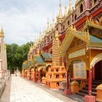 Thanboddhay tempel in Myanmar