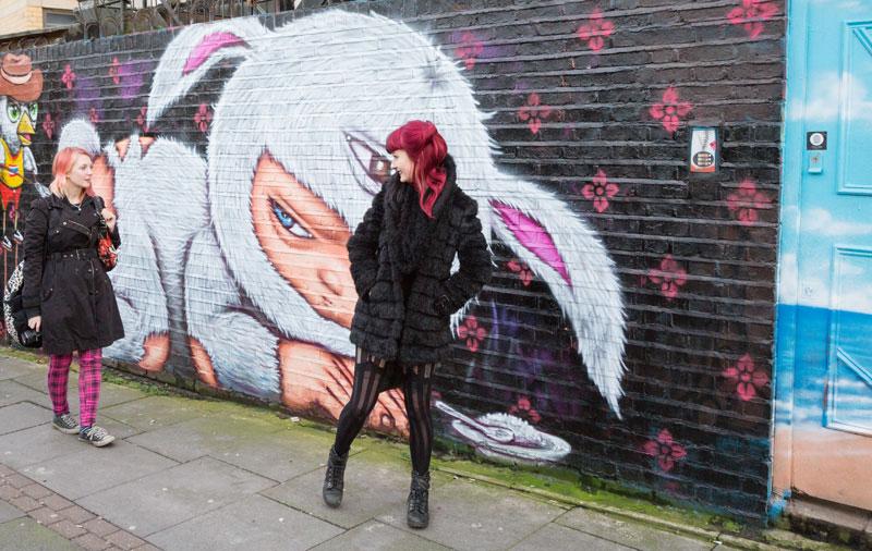 Bezienswaardigheden Londen: de mooiste street art