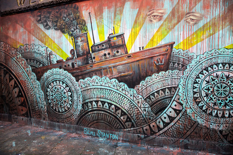 Street art in Londen