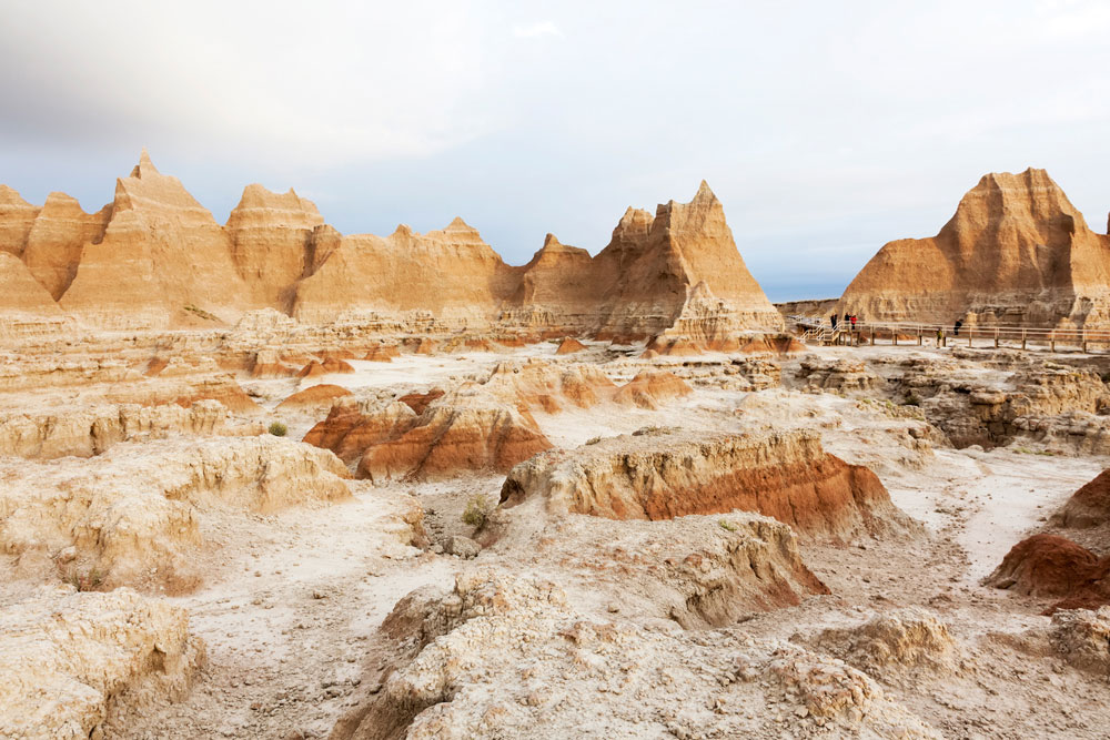 Badlands, South Dakota, Verenigde Staten