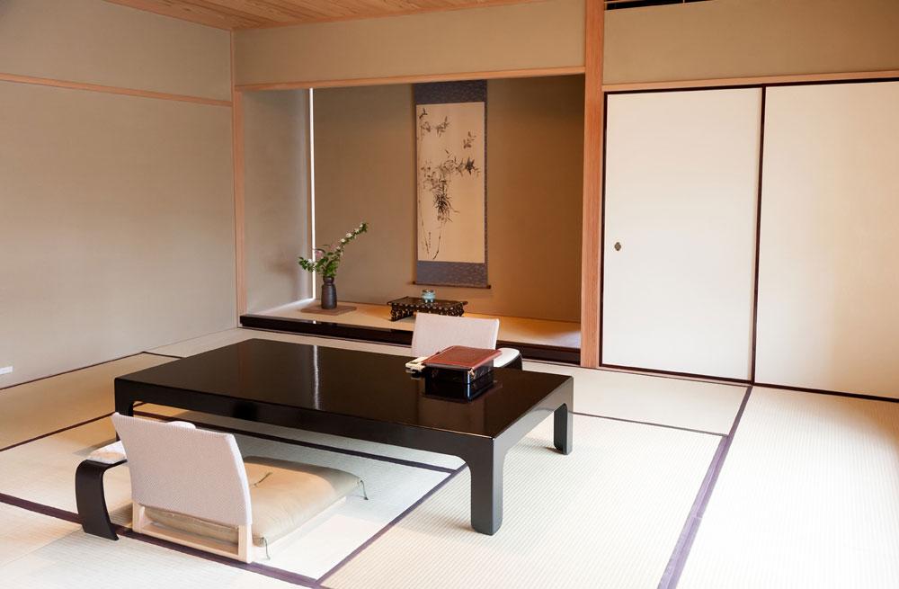 Japan, Kyoto, ryokan
