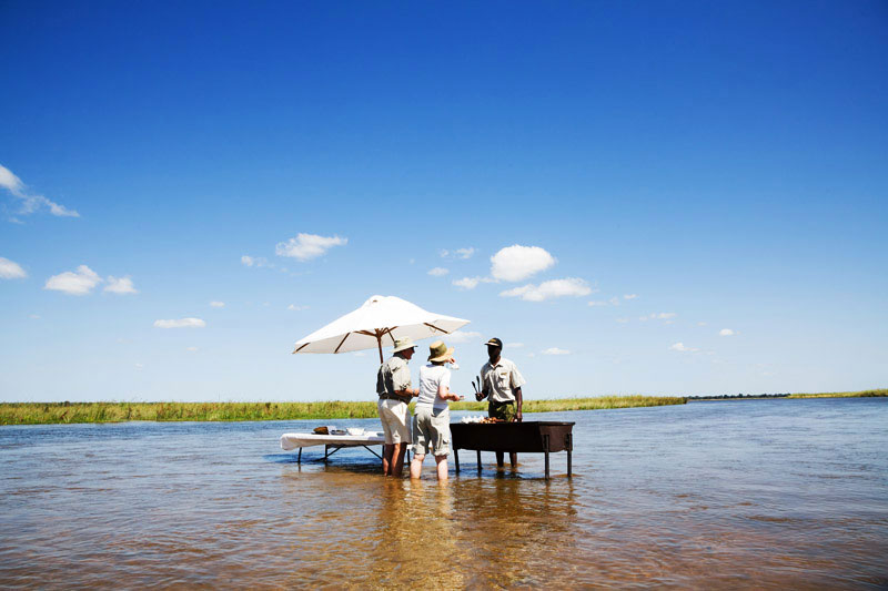Ultieme safari-chic in Zambia