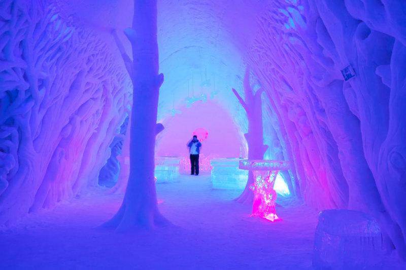 Finland, Lapland, Snow Village, ijshotel, hotel, wintersport