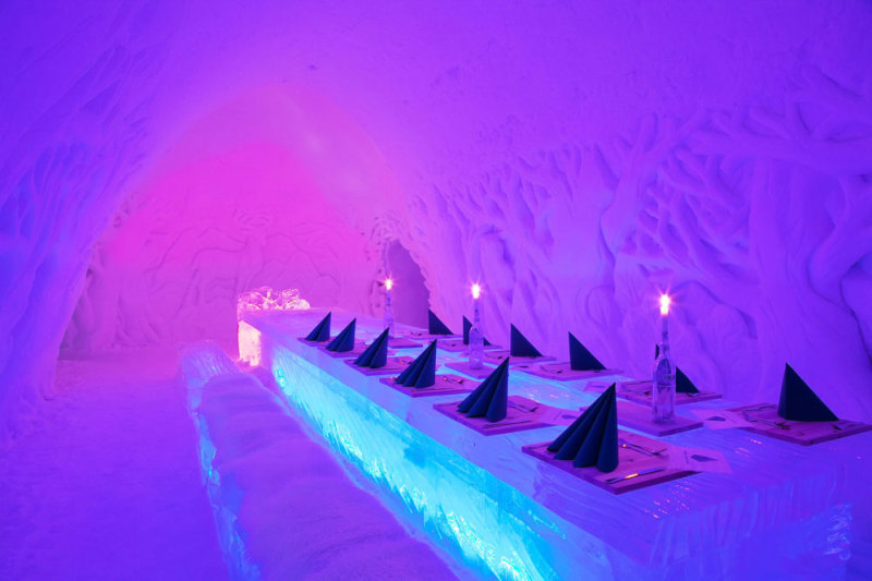 Snow Village, Lainio, Finland