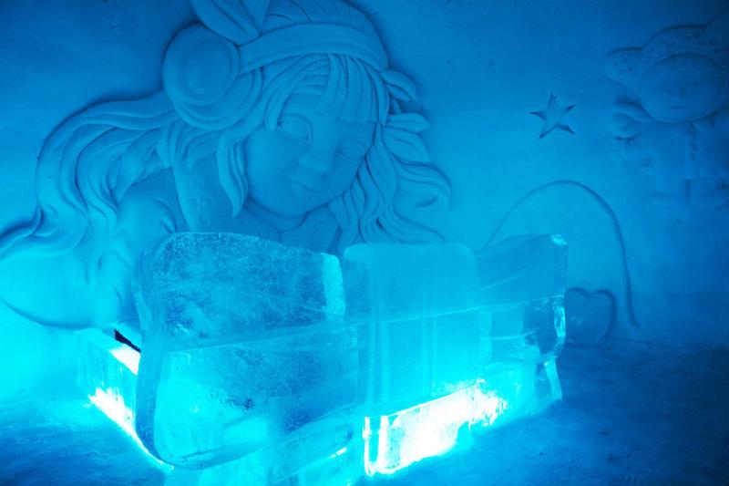 Snow Village, Lainio, Lapland, Finland, ijshotel, hotel, wintersport