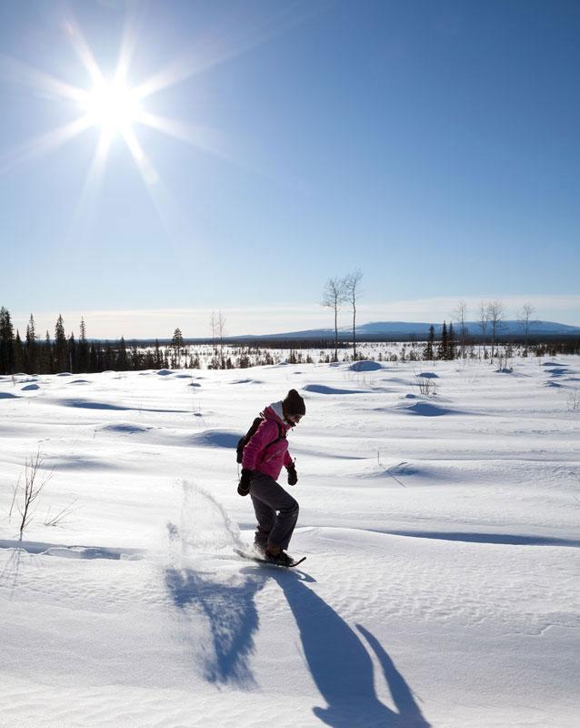 reisjournalist Kim van Dam Finland, Lapland, Levi