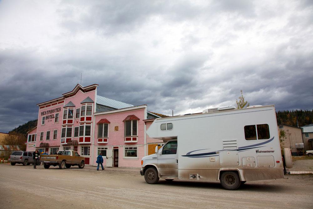 Dawson in Yukon, Canada