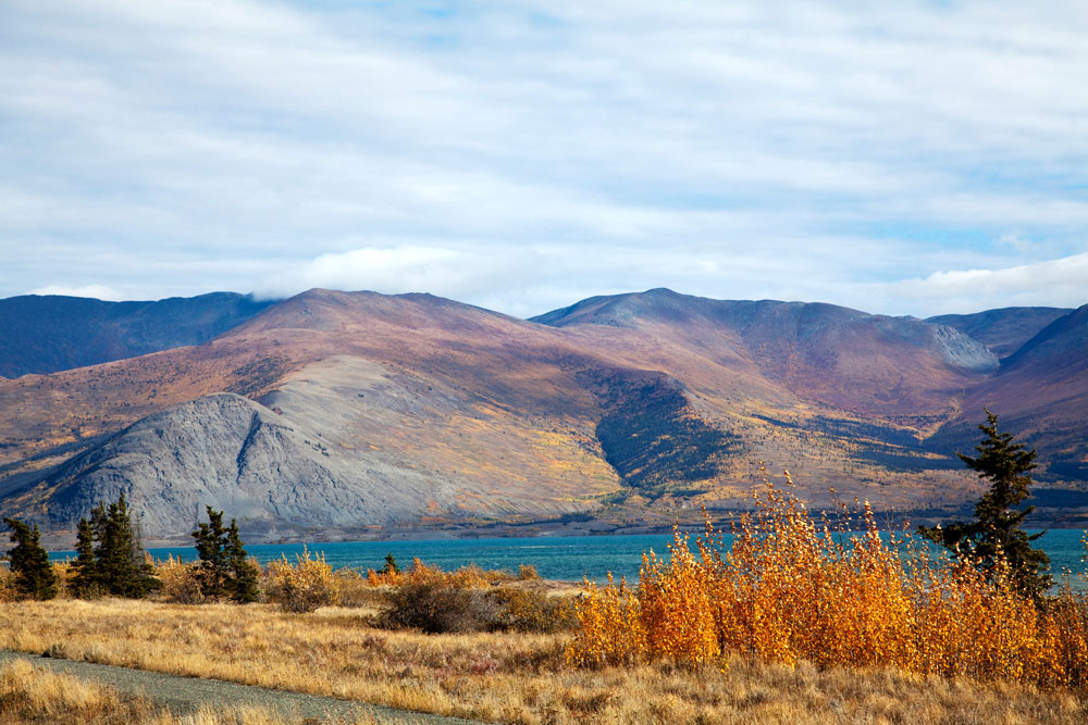 Kluane National Park in Yukon, Canada