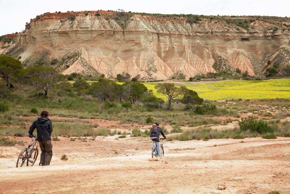 Spanje, fietsen in de woestijn