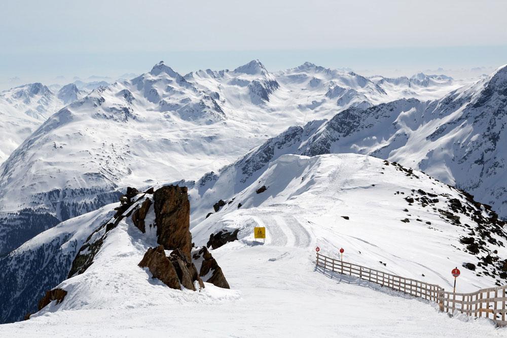 James Bond in Sölden, Oostenrijk