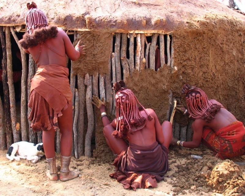 Himba's, Namibie