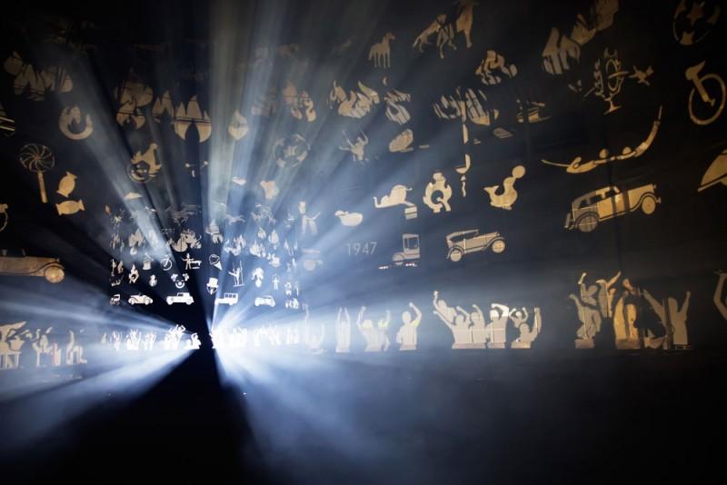 Lichtfestival Gent Belgie ARF&YES - Shadowspinner