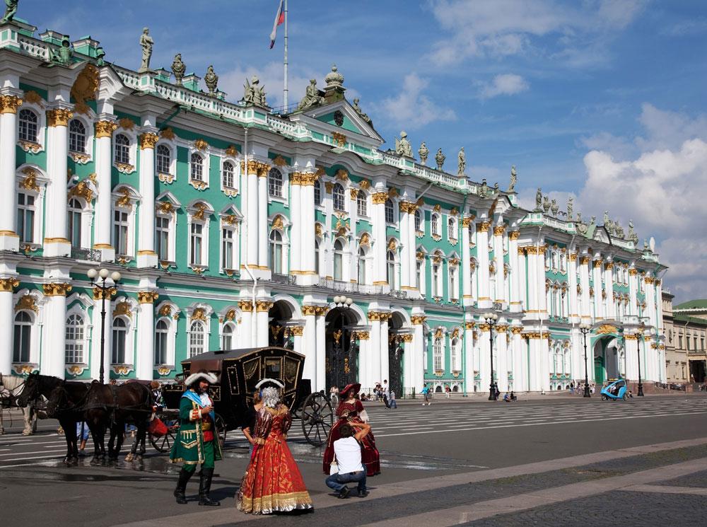Hermitage in St. Petersburg