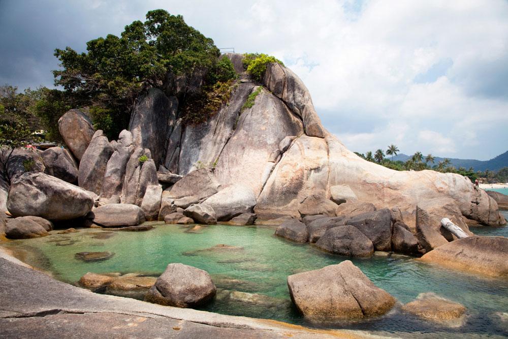 Koh Samui, Thailand, Hin Ta en Hin Yai Cruise vakantie