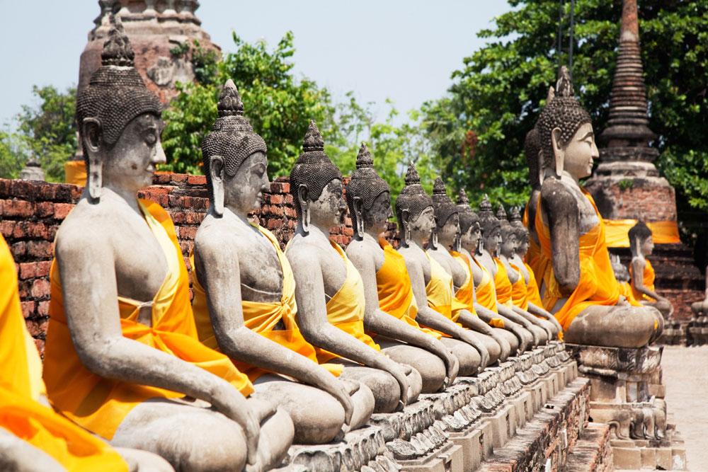 Wat Yai Chaimongkhoi, Ayutthaya, Thailand