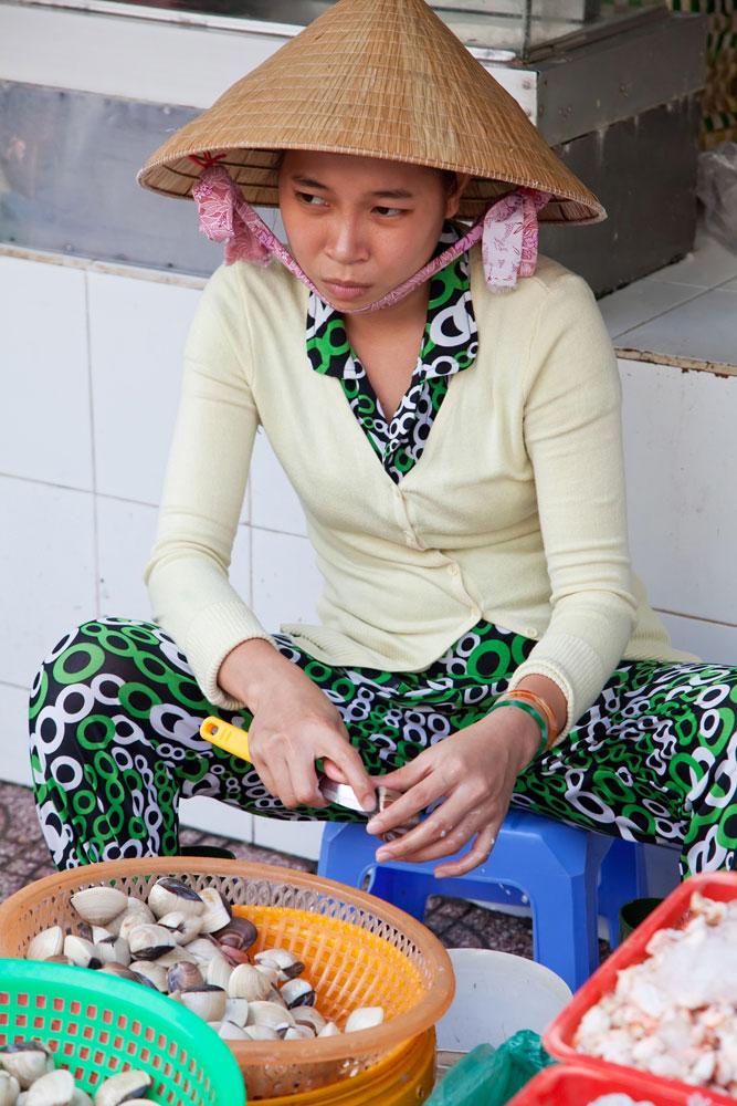 Ho Chi Minh Vietnam markt