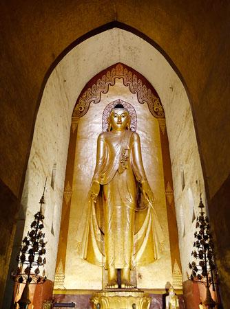 Bagan, Myanmar, Ananda Phaya