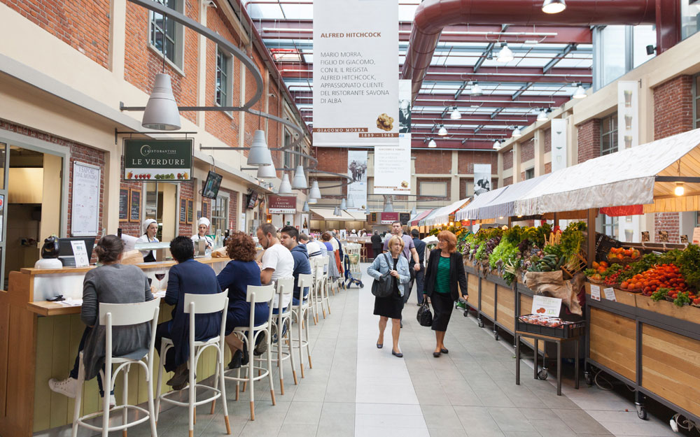 Eataly in Turin, foodies heaven, Italy
