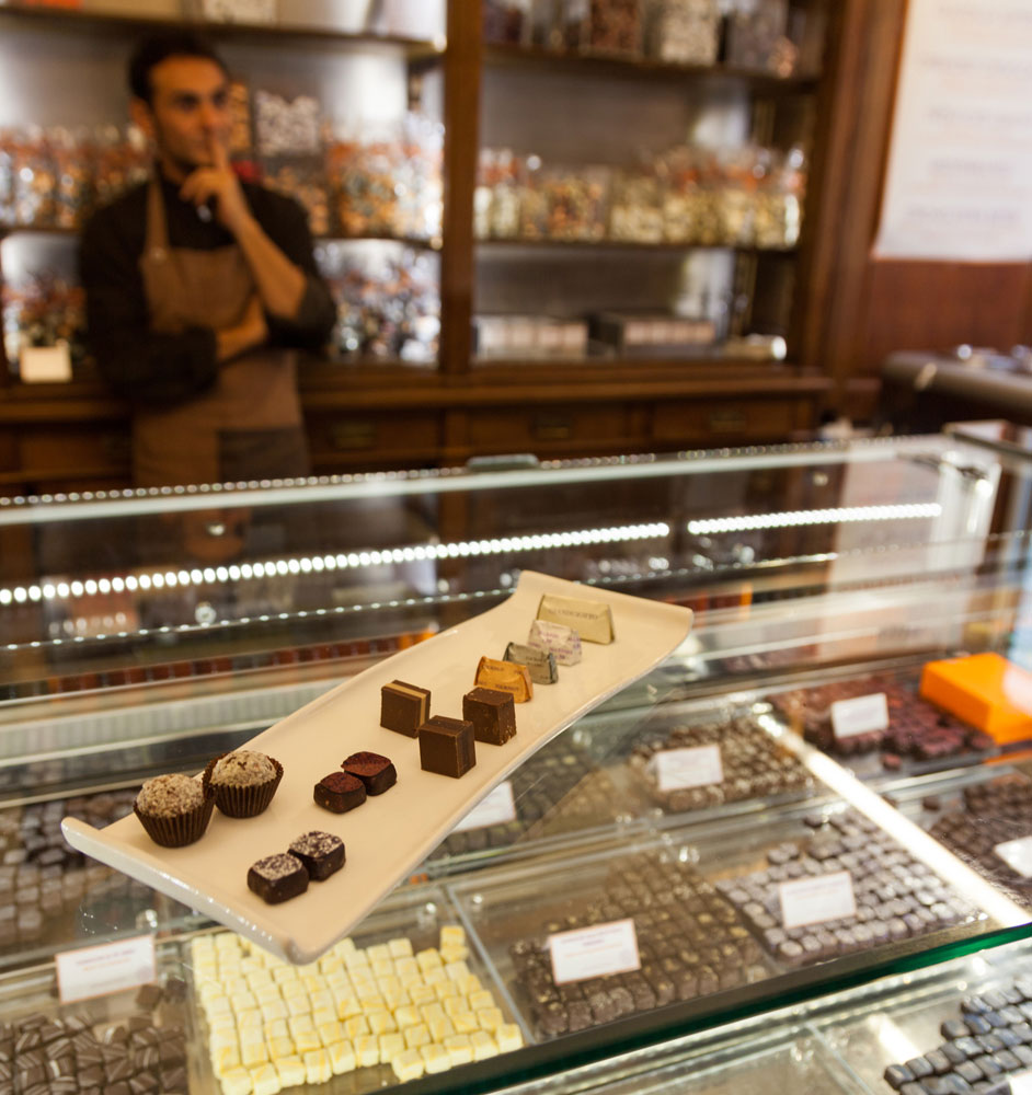 Addictively tasty, chocolate from Guido Gobino, Torino, Italy,Turin