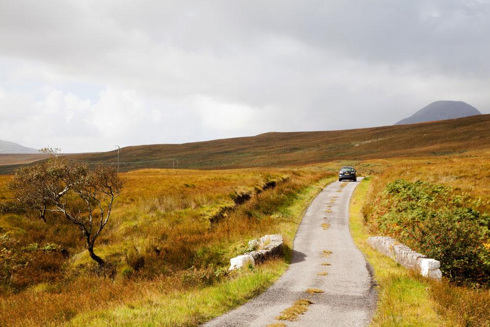 Jura Schotland binnen hebriden