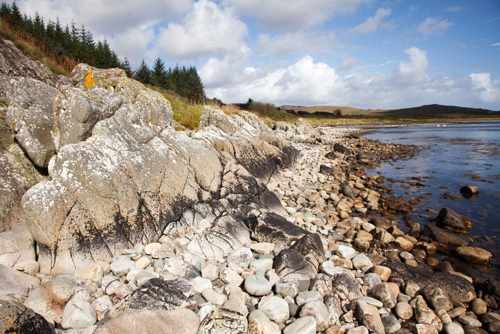Jura Schotland isle of jura binnen hebriden