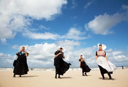 Katwijk, Nederland, Zeeuwse vrouwen