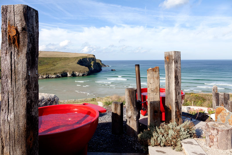 The Scarlet, Mawgan Porth, Cornwall, Engeland