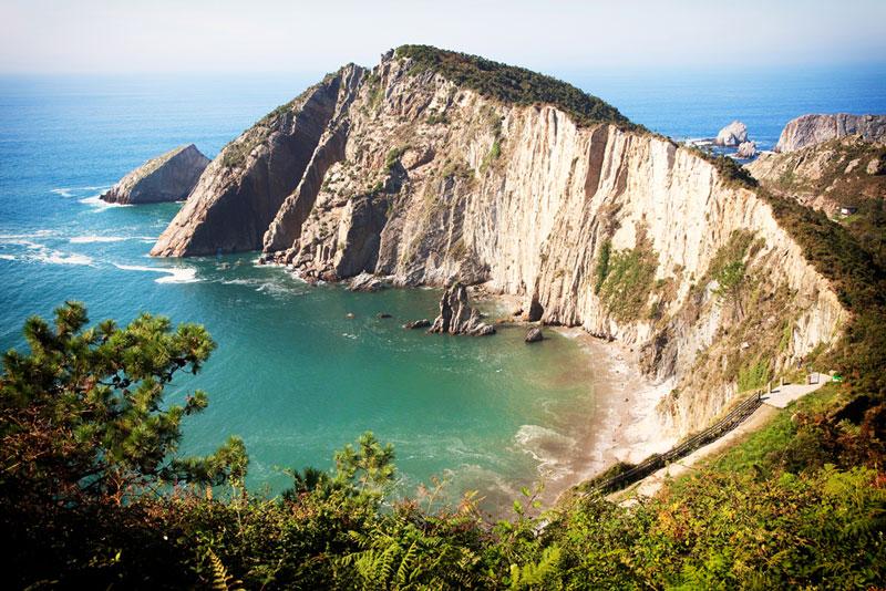 Playa del Silencio, Asturie, Spanje