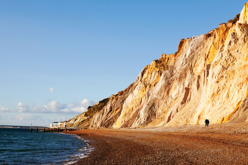 Alum Bay, Isla of Wight, Engeland