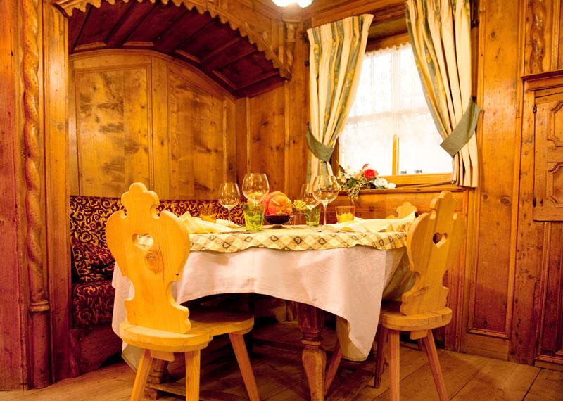 restaurant Fuciade, Val di Fassa, Italie