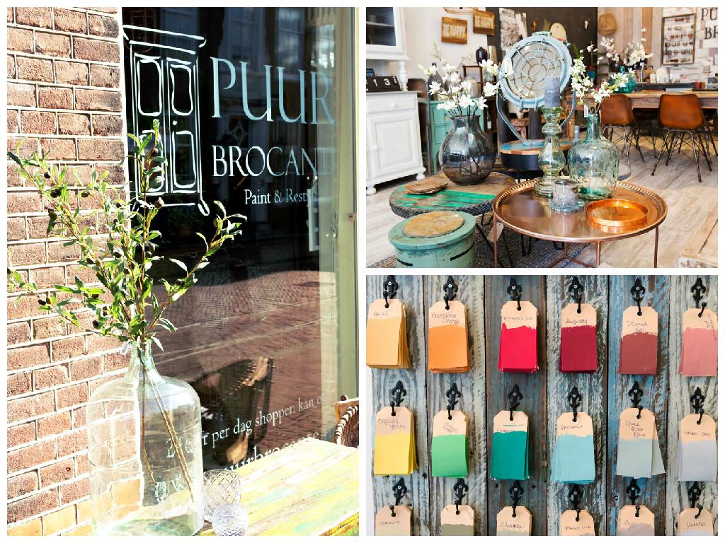 Hoorn Nederland Puur Brocante winkel