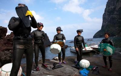 De Haenyeo (zeevrouwen) van Jeju