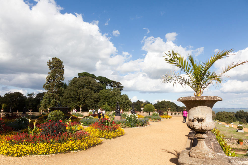 The Garden of Osbourne House on Isle of Wight, England
