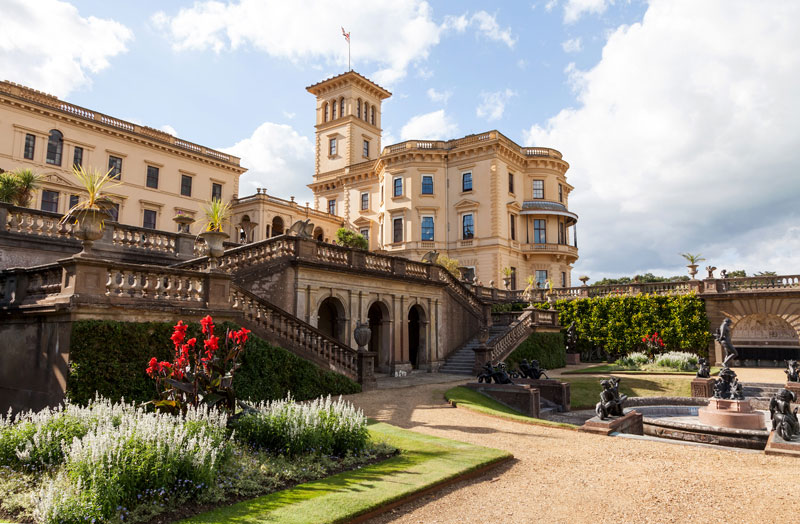 Osbourne House, Isle of Wight, England, cycling holiday