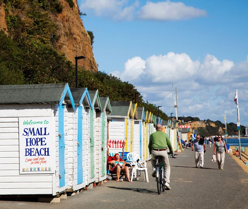 Fietsvakantie op Wight, Engeland