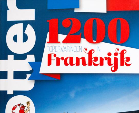 Reisgids: 1200 tips voor Frankrijk