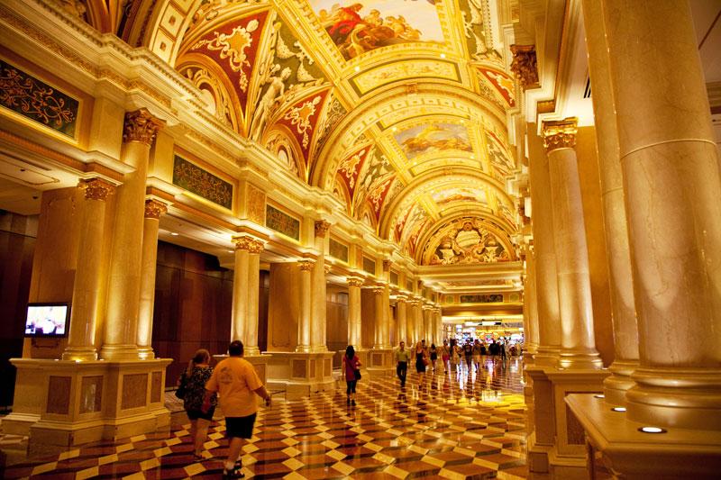 Het Venetian hotel in Las Vegas, USA