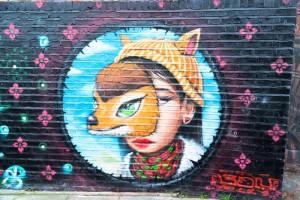 Hotspots stedentrip Londen Engeland bezienswaardigheden streetart street art