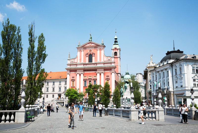Drie x Doen in Ljubljana, Slovenie
