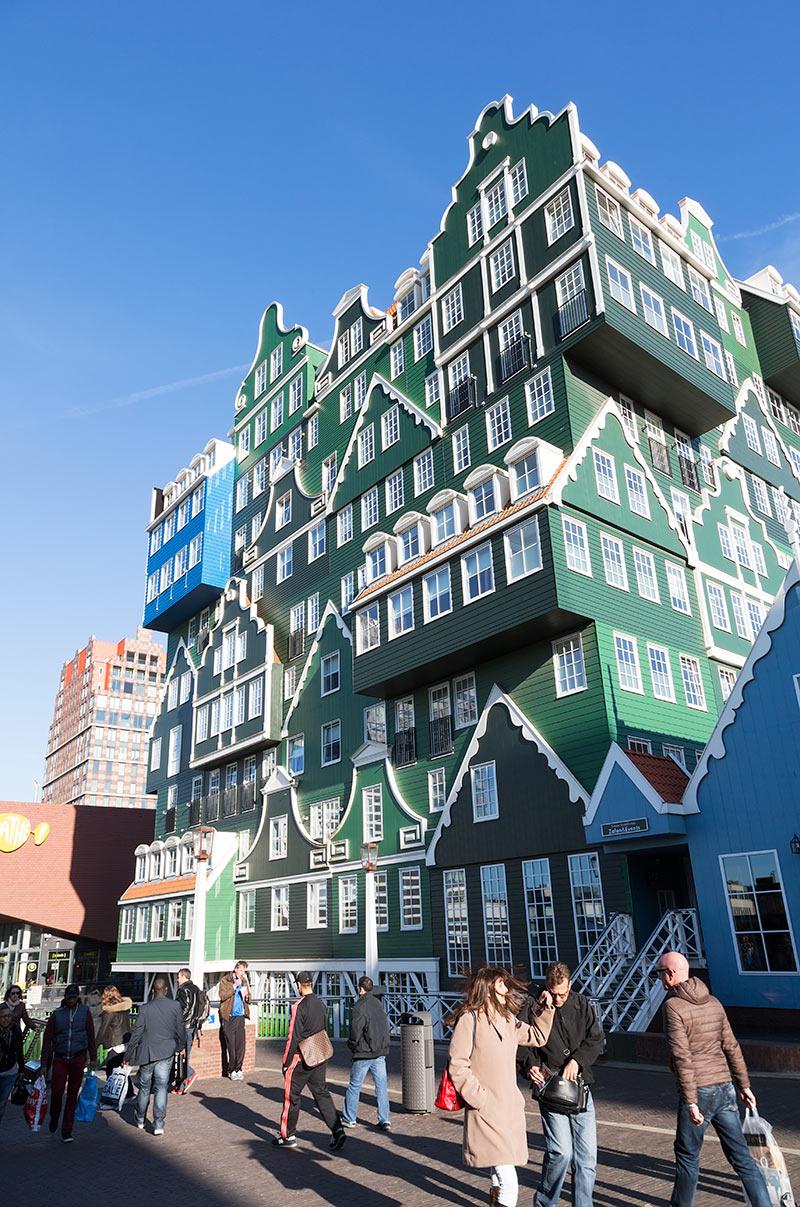 Het Inntel hotel in Zaandam