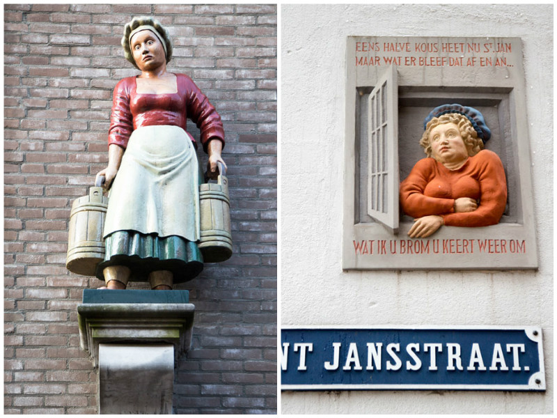 De historie spat in Deventer van de gevels