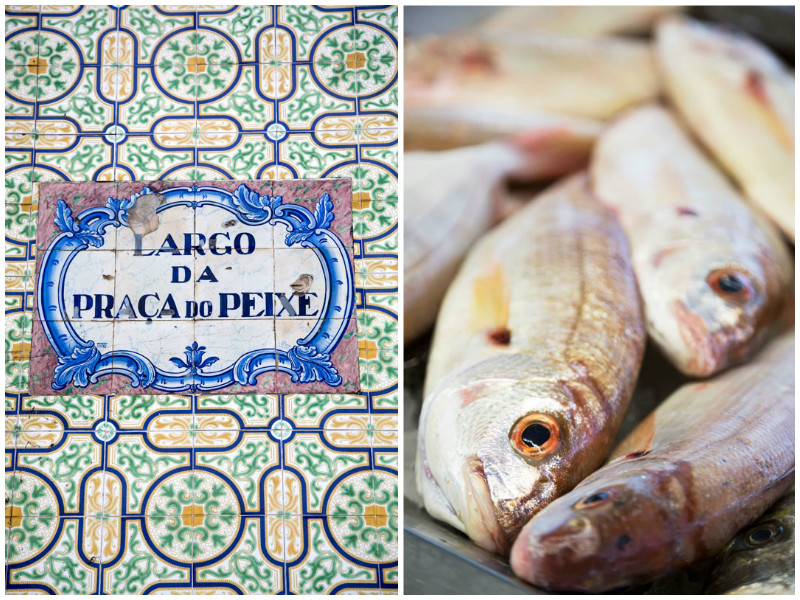 The fish market in Aveiro, Portugal