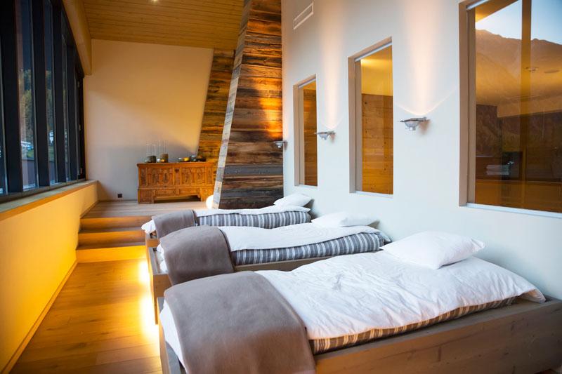 Het Bergland hotel in Solden, Oostenrijk. Hier sliep Daniel Craig tijdens de opnamen van de James Bond film Spectre.