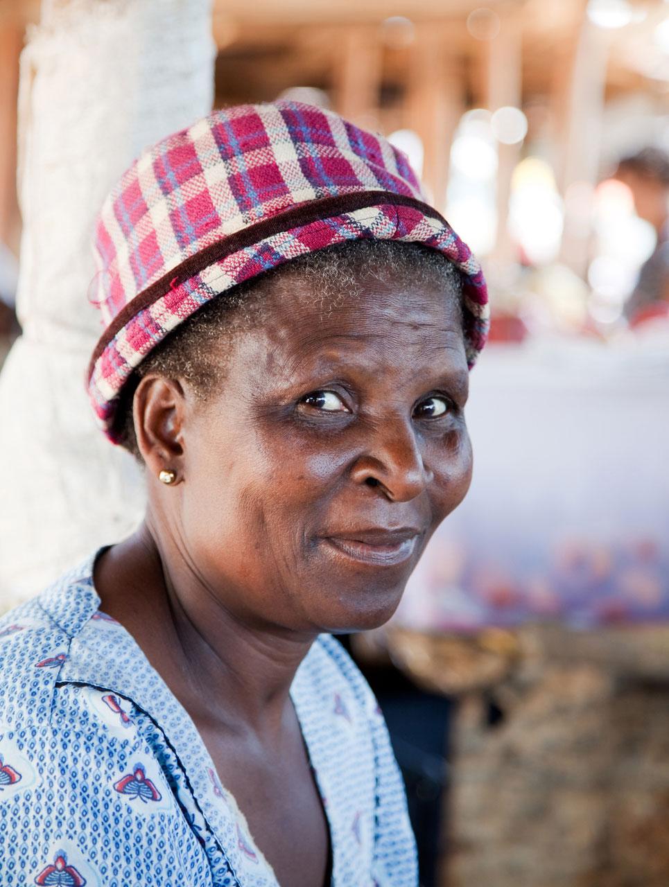 De markt van Elim, Limpopo, Zuid-Afrika