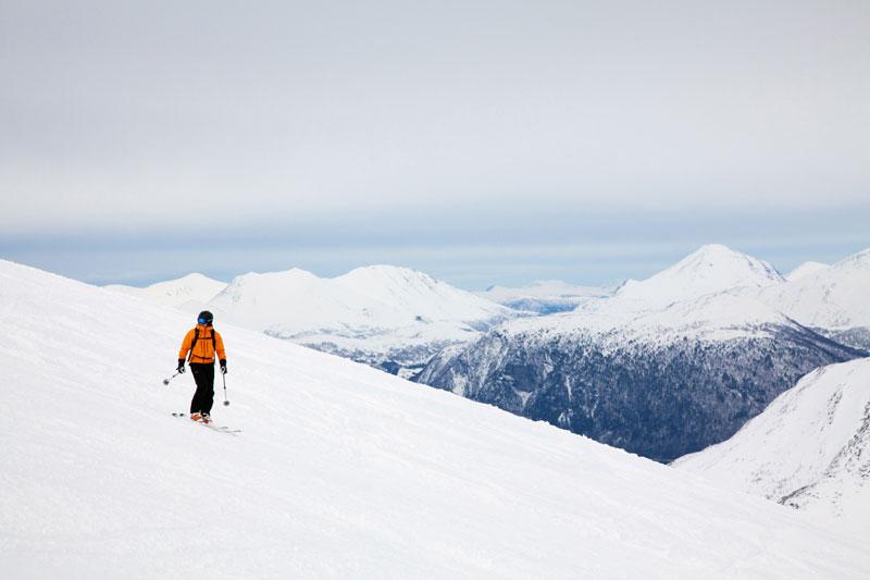 Wintersport Noorwegen: skiën tussen de fjorden