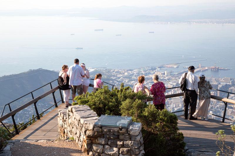 Het beste uitzicht over Kaapstad heb je vanaf de Tafelberg.